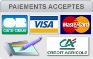 paiements accept�s